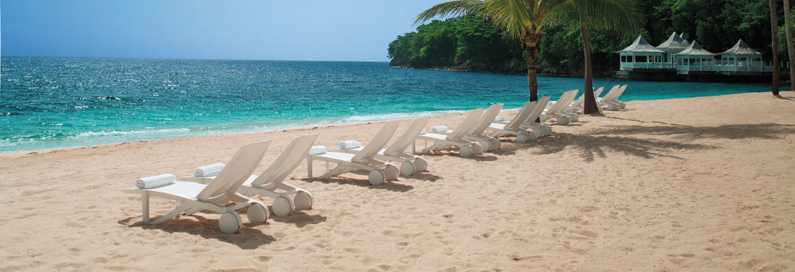 The parish in jamaica with two resorts rated in the top for Best beach vacations in us for couples