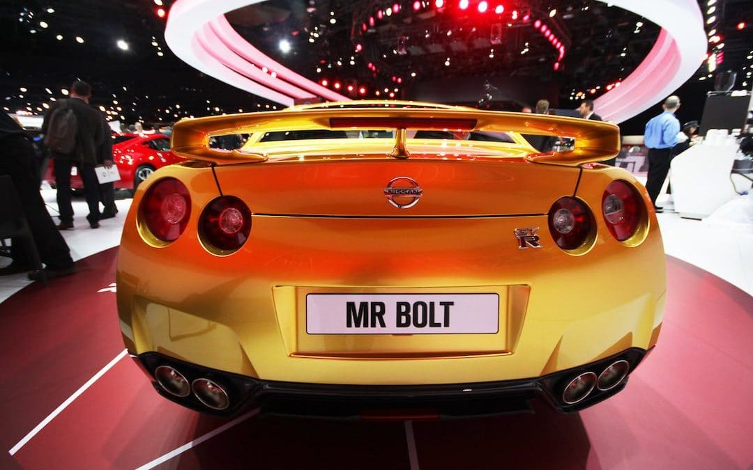 Usain Bolt Rock-Star Ride