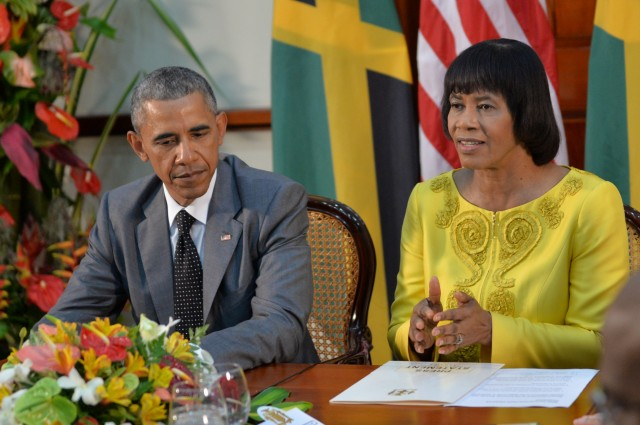 President Obama Visit to Jamaica