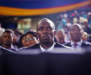 Usain Bolt at UWI