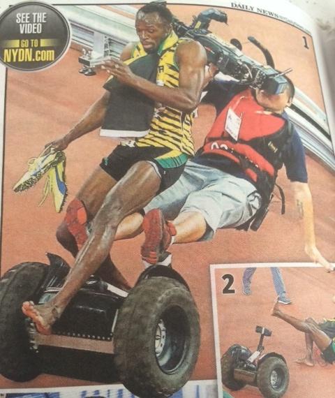 1st Usain Bolt Defeat