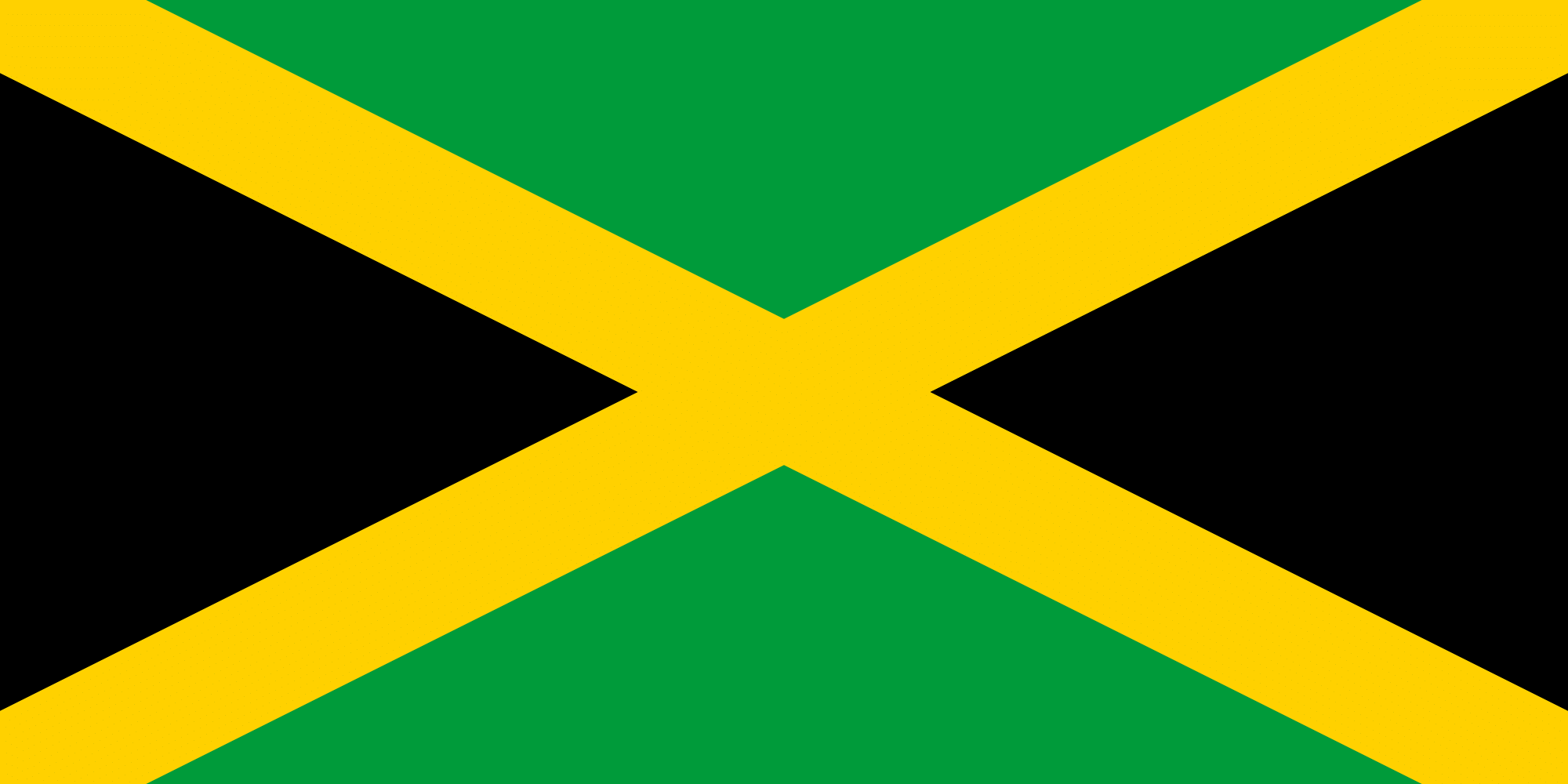 How many colors does the Jamaican Flag have?