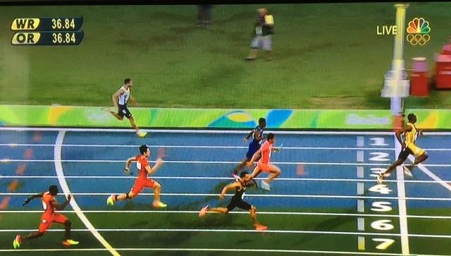 Usain Bolt dream comes true and winning gold.