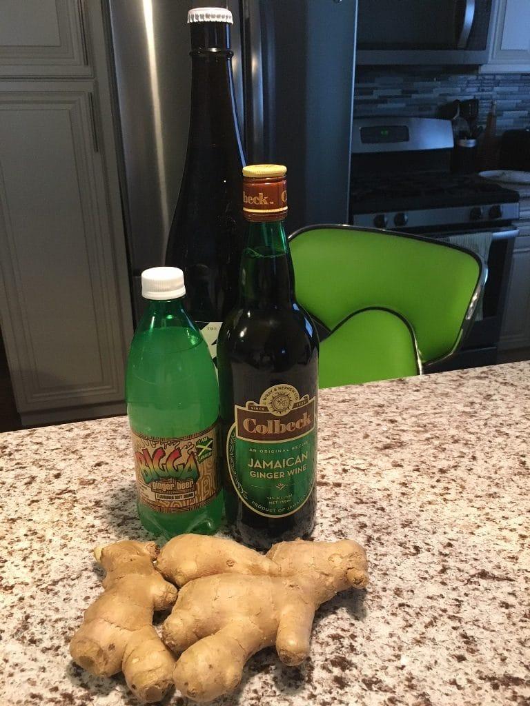 Jamaican Ginger Beer, refreshing drink,