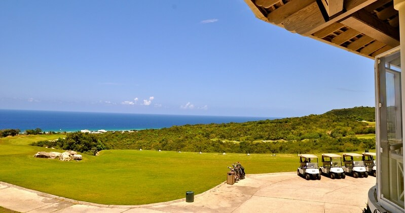 View from the White Witch of Rose Hall Golf Course