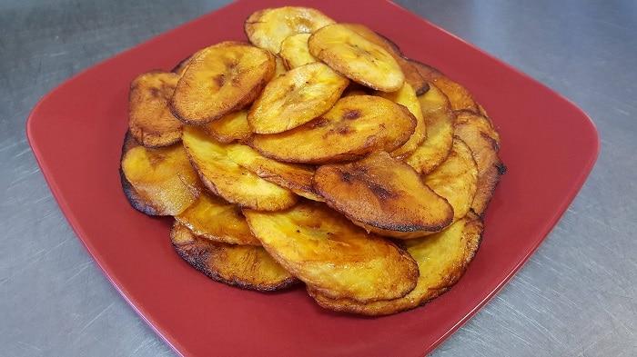 fried plantains served at Coastal Breeze