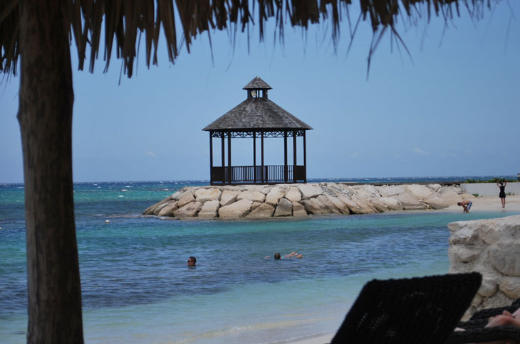 Montego bay secrets at wild Orchid private dining area